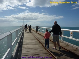 walk on Busselton Jetty