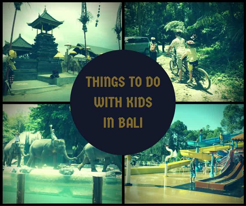 Things To Do In Bali With Kids Infograph Toddlers On Tour
