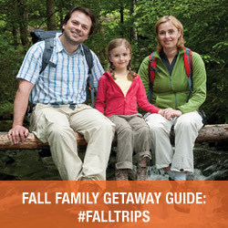 fall trips ideas for a family holiday