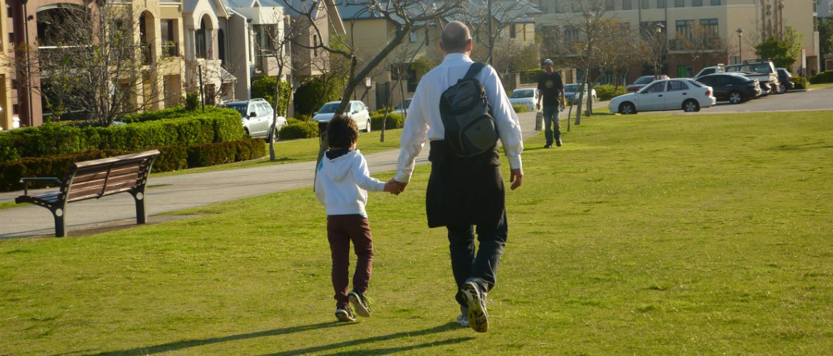 tips for walking with kids